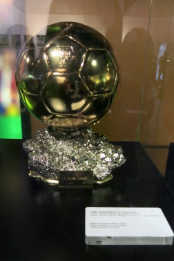 Messi's golden ball