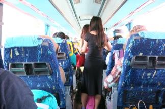 Bus to Oia