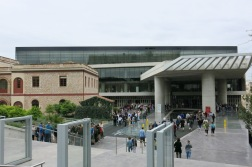 Entrance of Acropolis museum