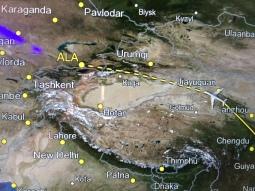 ALA = Almaty airport